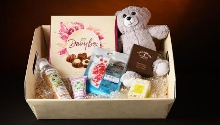 Pamper Gift Hamper - Chocolate, Teddy and Spa items